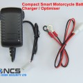 MOTORCYCLE SPECIFIC SMART 12V ACID BATTERY CHARGER / OPTIMISER