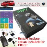 SPY Smart Phone GPS Tracker Car Alarm Immobiliser – iPhone 5, 6 Android Windows