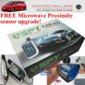 SPY 2 WAY CAR ALARM SYSTEM & IMMOBILISER WITH REMOTE ENGINE START and PROXIMITY