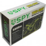 SPY 5000 Motorcycle Alarm and Immobiliser. Rechargeable remote version