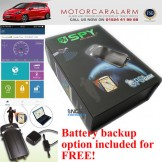 SPY Smart Phone GPS Tracker Car Alarm Immobiliser – iPhone Android Windows