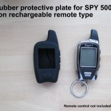 2 x Protective rubber cover for SPY 5000 NON Rechargeable type Remote control